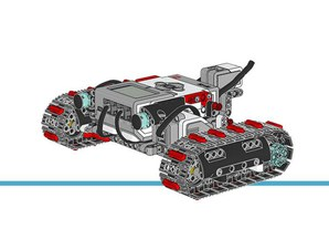 (Lego mindstorm robot) the four directions