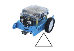 MBot – Movement – Draw a triangle